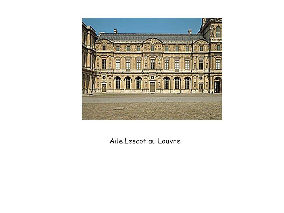 Aile Lescot au Louvre