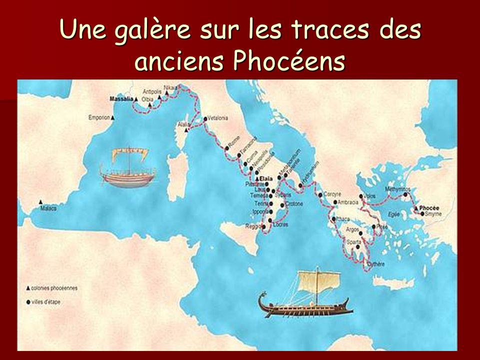 Une galère sur les traces des anciens Phocéens