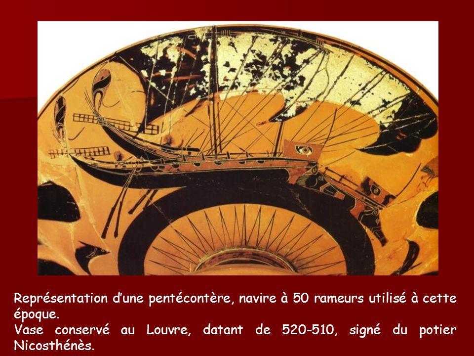 Massalia Phocée Larchéologie indique la date de 600 av.