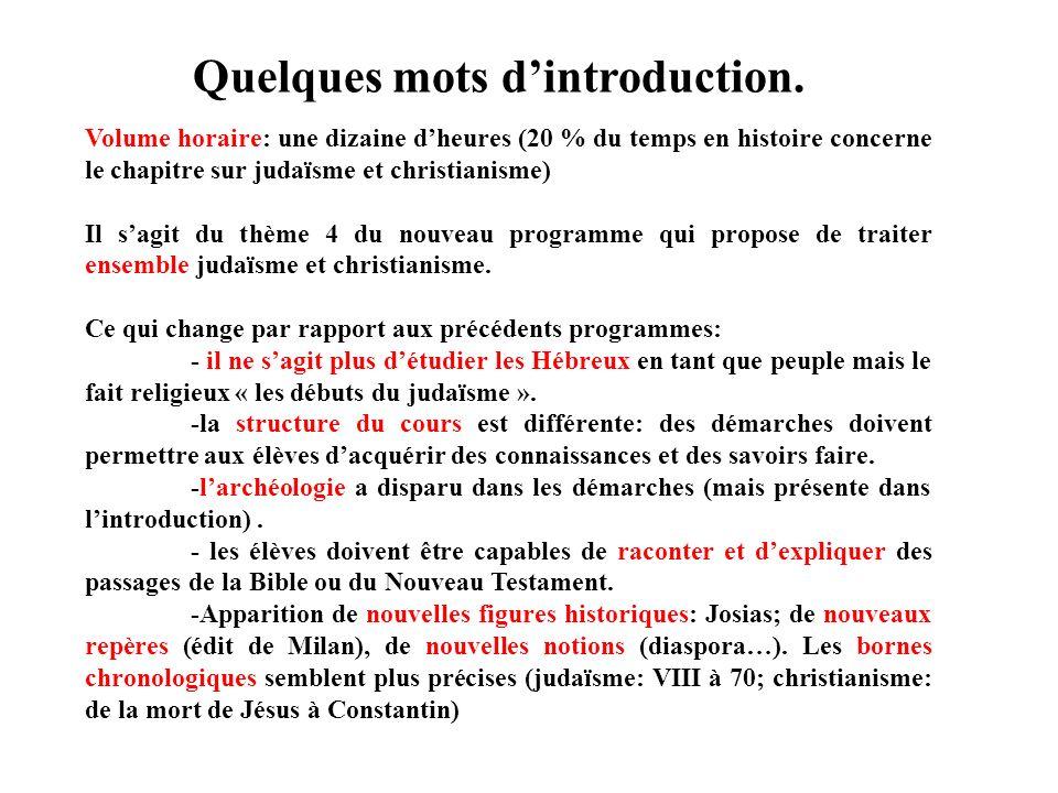 Quelques difficultés à surmonter Les difficultés traditionnelles liées à lenseignement du fait religieux: - ne pas tomber dans un enseignement religieux, mais enseigner le fait religieux.