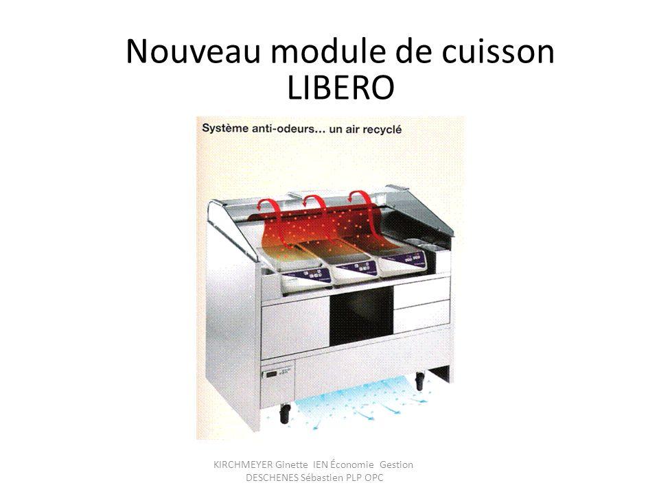 KIRCHMEYER Ginette IEN Économie Gestion DESCHENES Sébastien PLP OPC Nouveau module de cuisson LIBERO