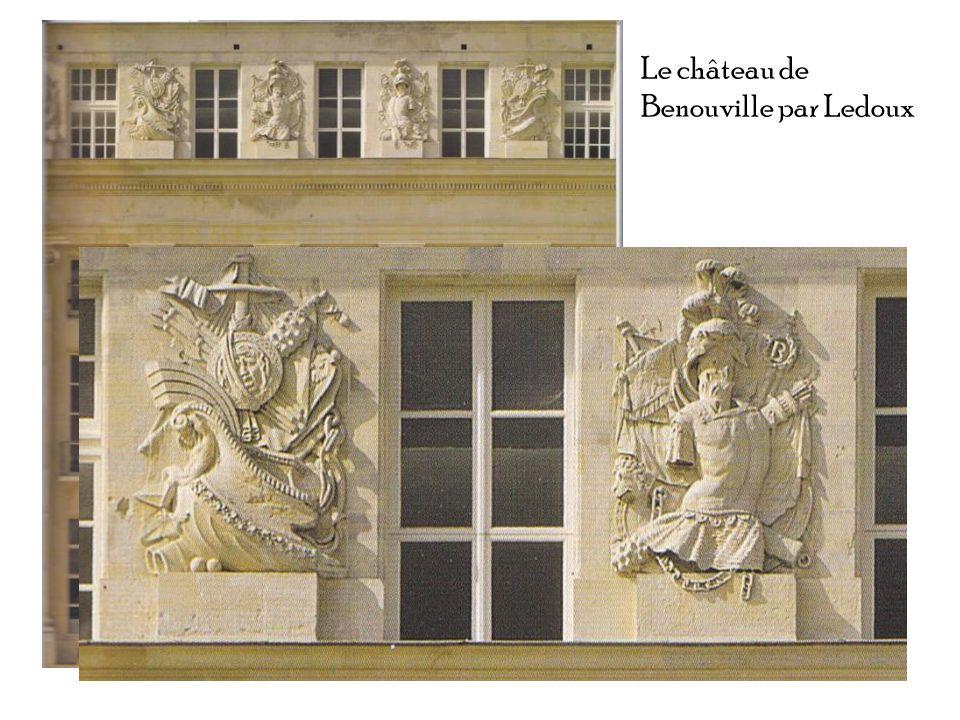 Le château de Benouville par Ledoux