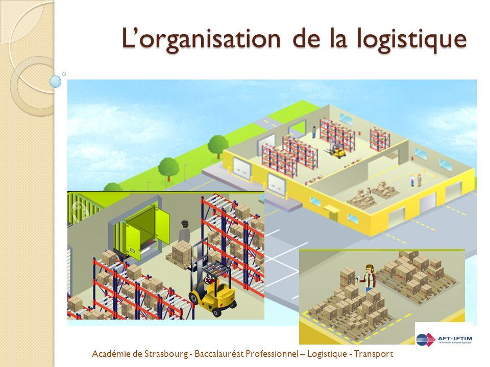 Académie de Strasbourg - Baccalauréat Professionnel – Logistique - Transport Lorganisation de la logistique