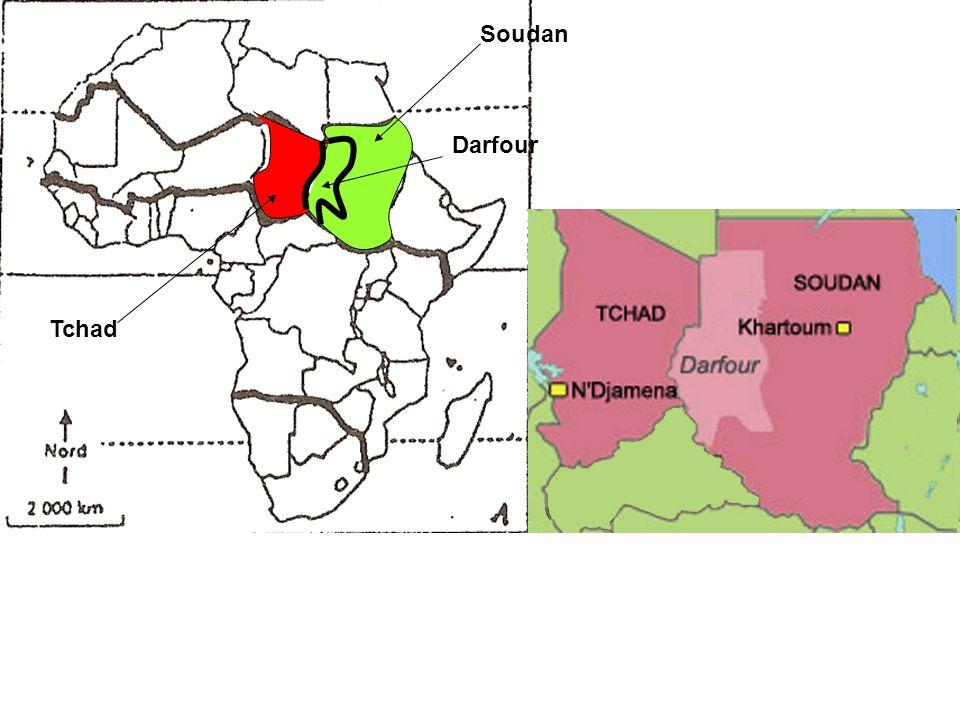 Tchad Soudan Darfour