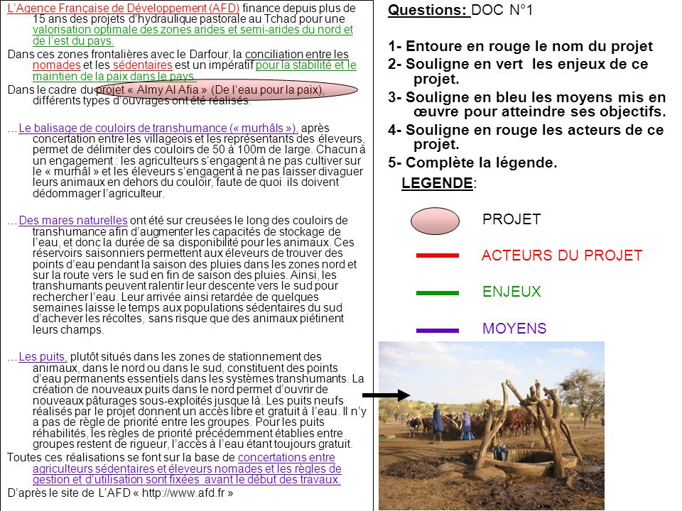 (Pays riches) (Pays pauvres) France: (Pays riche) TCHAD: (PMA) Pays riche/ Pays pauvre SOLIDARITE NORD / SUD NORD SUD