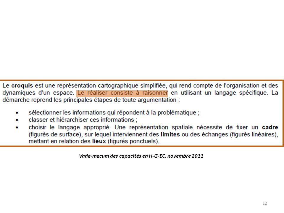 Vade-mecum des capacités en H-G-EC, novembre 2011 12