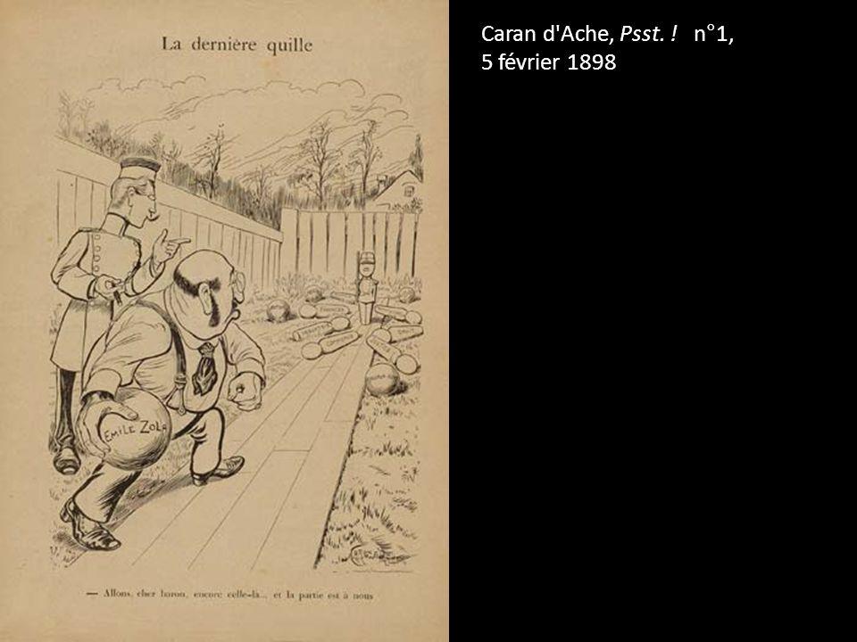 Caran d'Ache, Psst. ! n°1, 5 février 1898