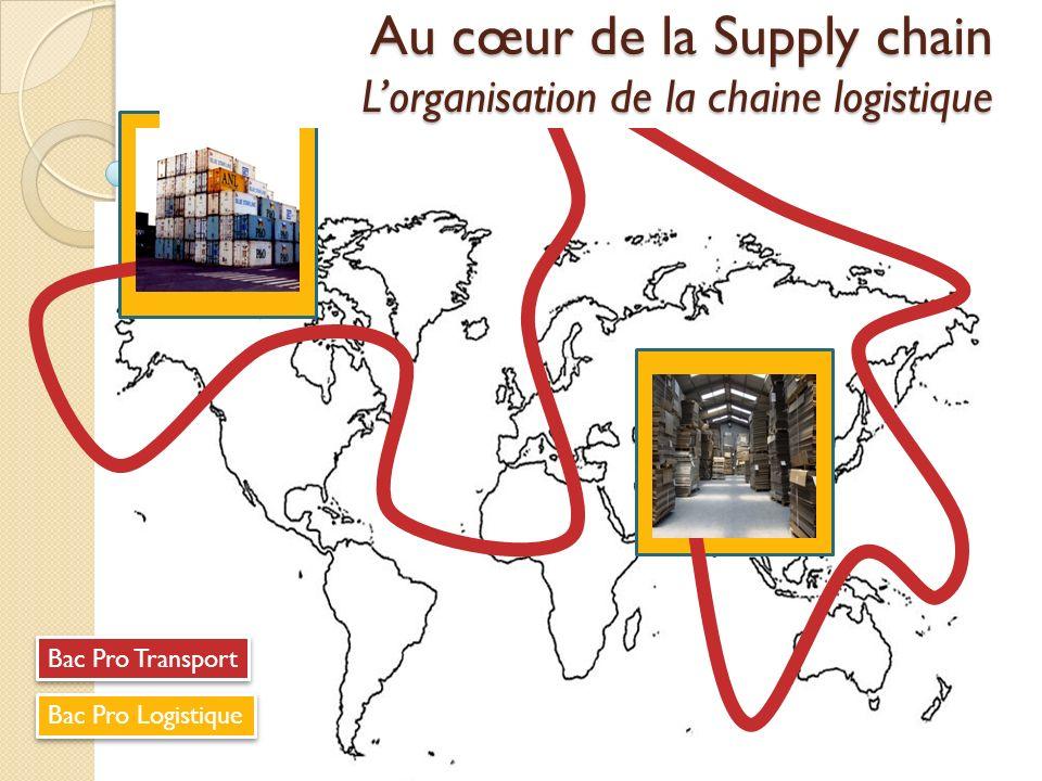 Bac Pro Transport Bac Pro Logistique Au cœur de la Supply chain Lorganisation de la chaine logistique