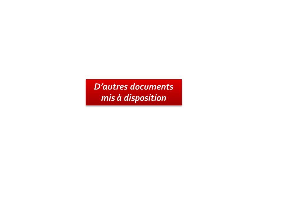 Dautres documents mis à disposition