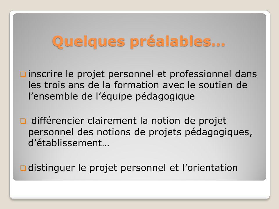 La démarche de projet Elle se décline en trois phases : 1.