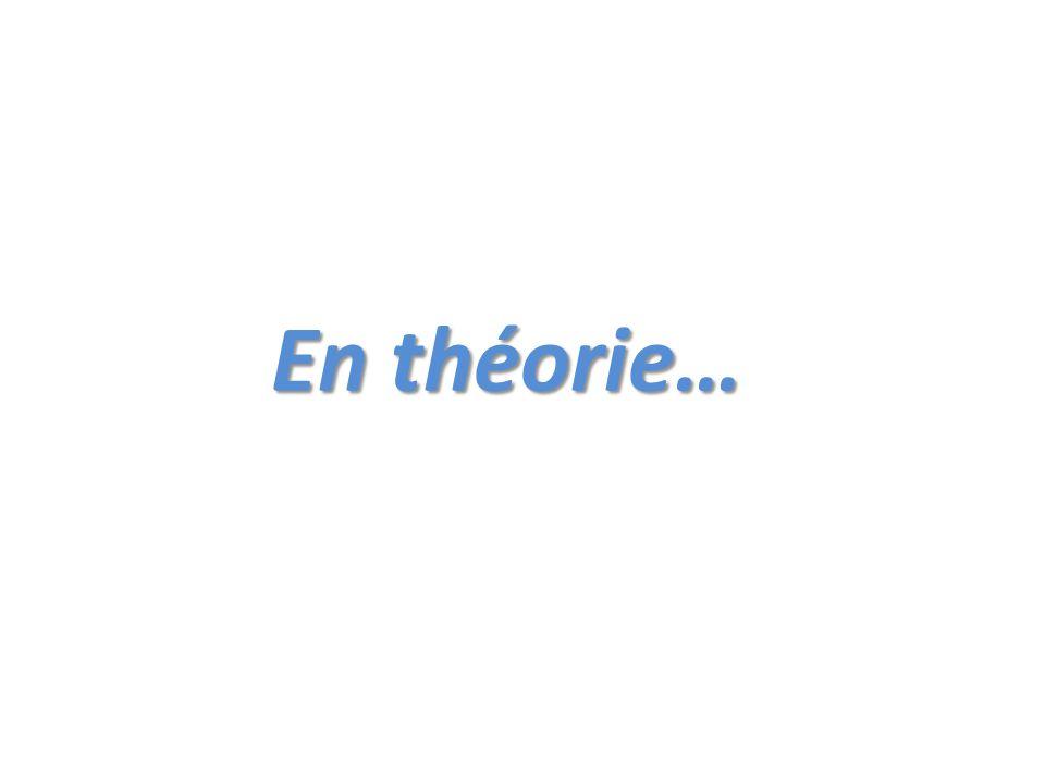 En théorie…