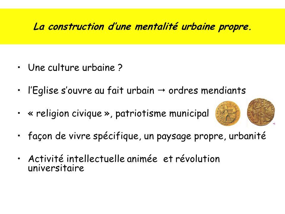 La construction dune mentalité urbaine propre.Une culture urbaine .