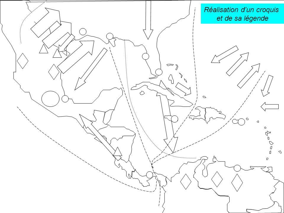 Objectif des exercices à suivre : Lister les échanges existant dans l espace caraïbe.