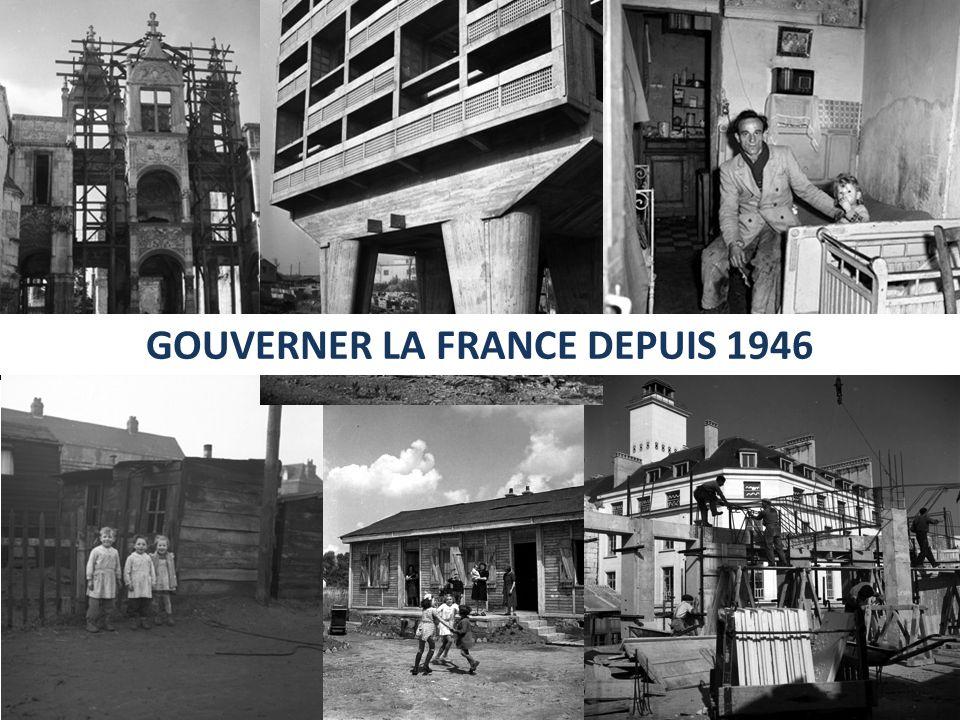 Consignes Après avoir présenté et situé le document dans son contexte, expliquez comment est gouvernée la France sous la IVe République et quel est alors le rôle de lEtat.