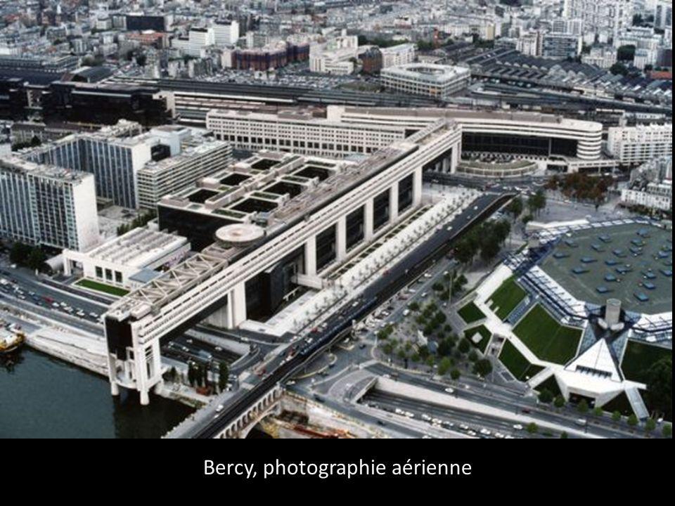 Bercy, photographie aérienne
