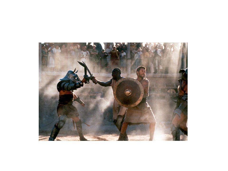 Quand sont apparus les combats de gladiateurs .