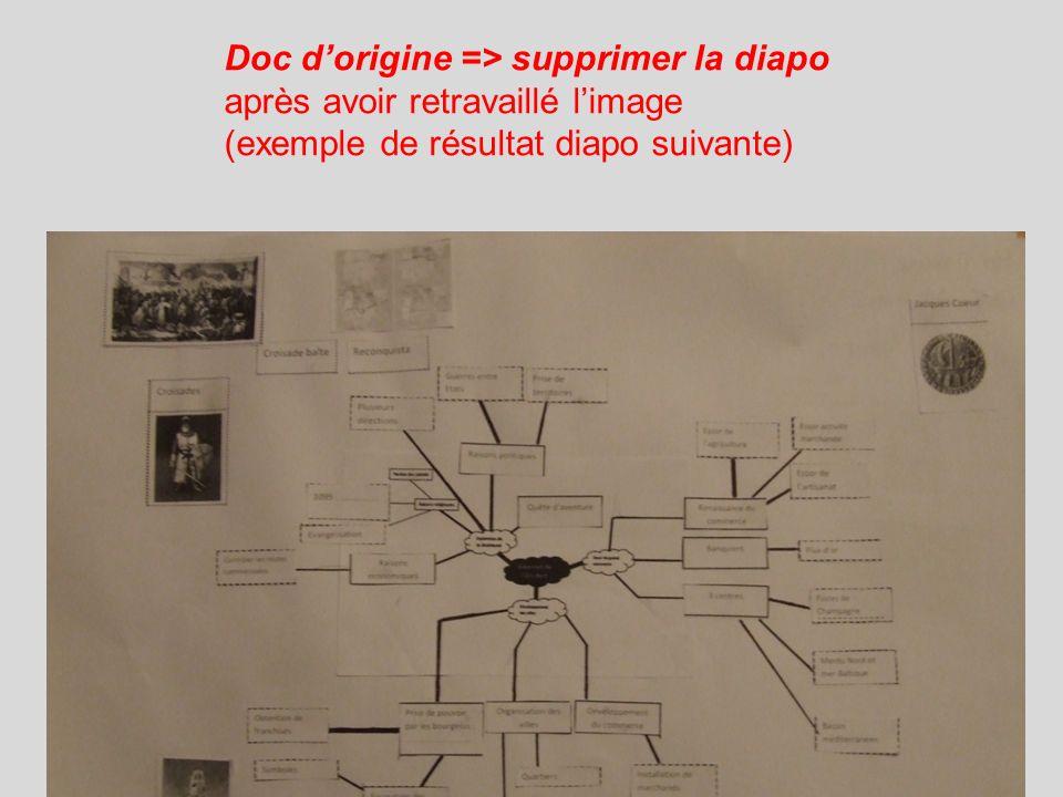 Doc dorigine => supprimer la diapo après avoir retravaillé limage (exemple de résultat diapo suivante)