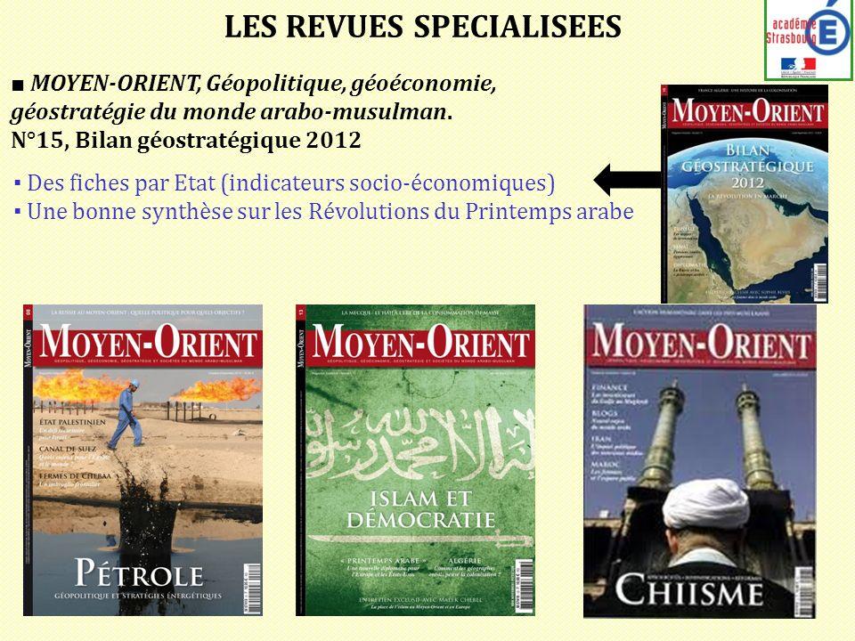 MOYEN-ORIENT, Géopolitique, géoéconomie, géostratégie du monde arabo-musulman.