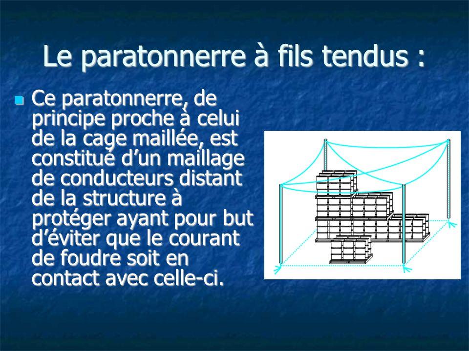 Le parafoudre : Un parafoudre (ou parasurtenseur) est un dispositif de protection des appareillages électriques ou électronique contre les surtensions électriques générées par exemple par la foudre ou certains équipements industriels.