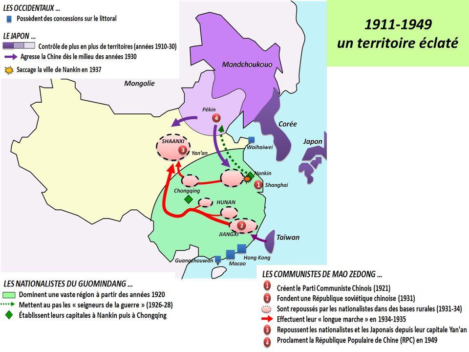 1911-1949 un territoire éclaté