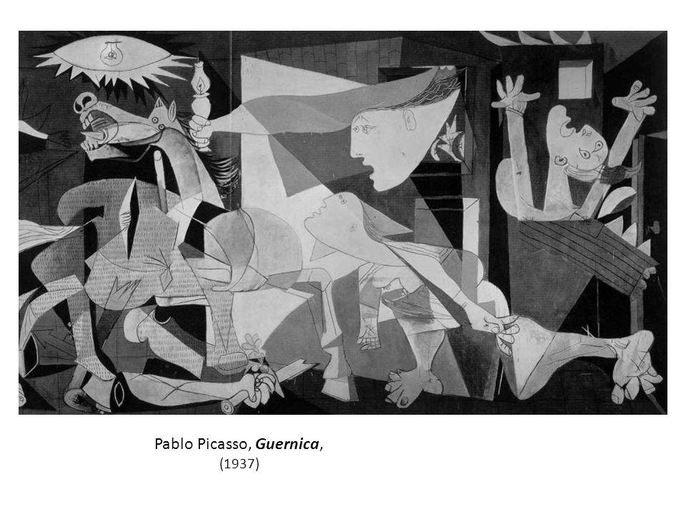 Pablo Picasso, Guernica, (1937)