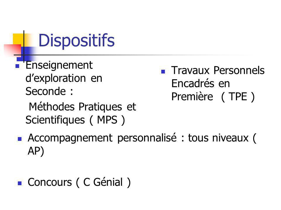Autres synopsis Vos propositions/suggestions ?