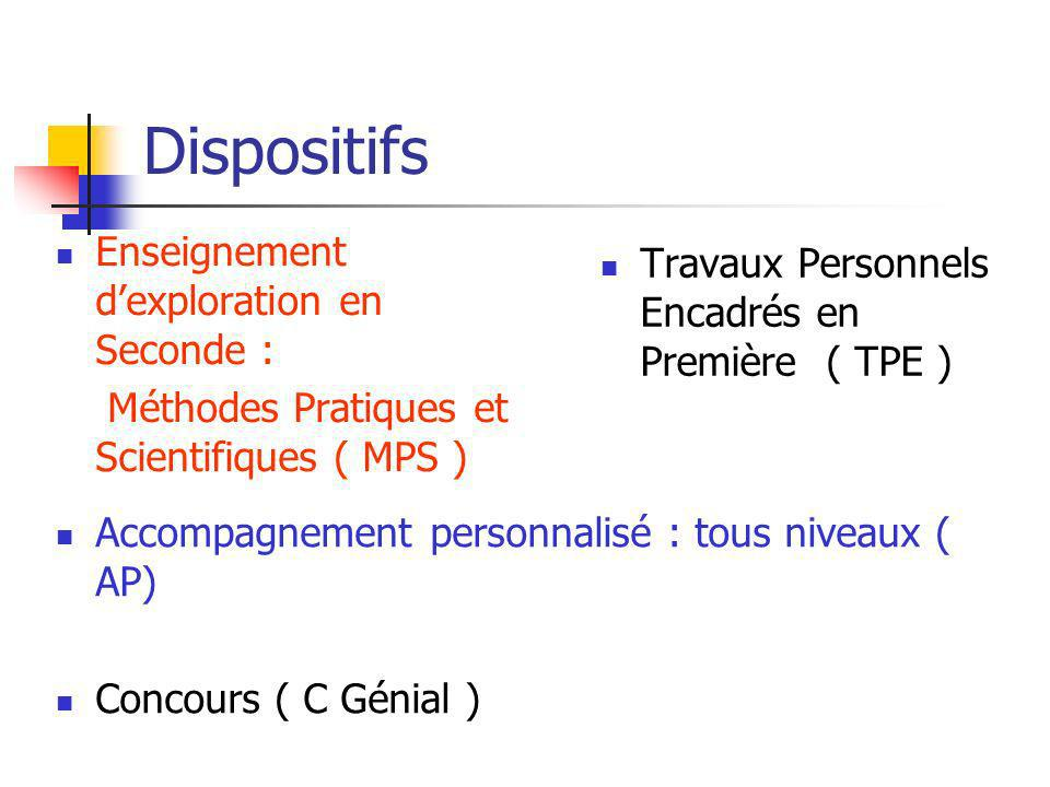 MPS - créer un synopsis Quelle organisation ou quels fonctionnements dans les établissements .