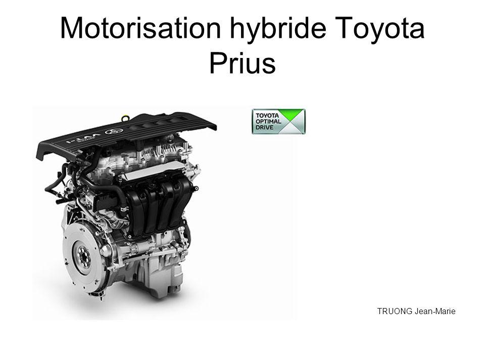 Motorisation hybride Toyota Prius TRUONG Jean-Marie