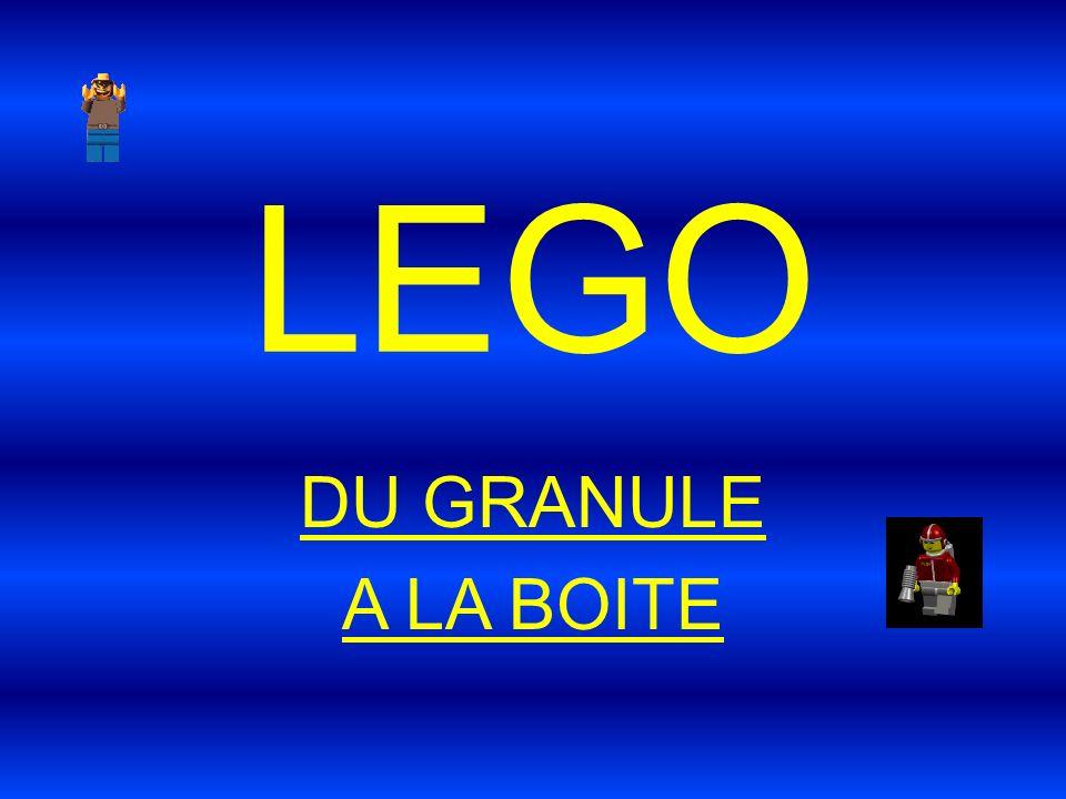 LEGO DU GRANULE A LA BOITE