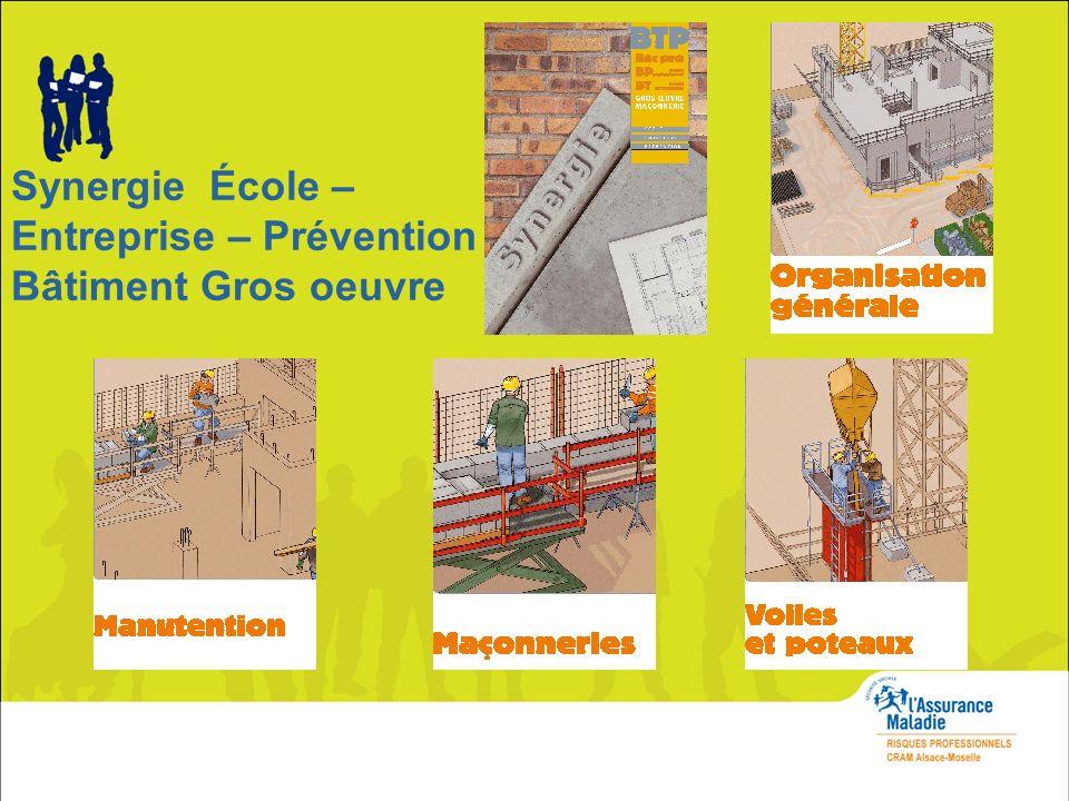 Synergie École – Entreprise – Prévention Bâtiment Gros oeuvre