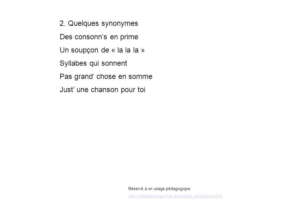 Réservé à un usage pédagogique http://drapeaurouge.free.fr/bombes_atomiques.html 2.