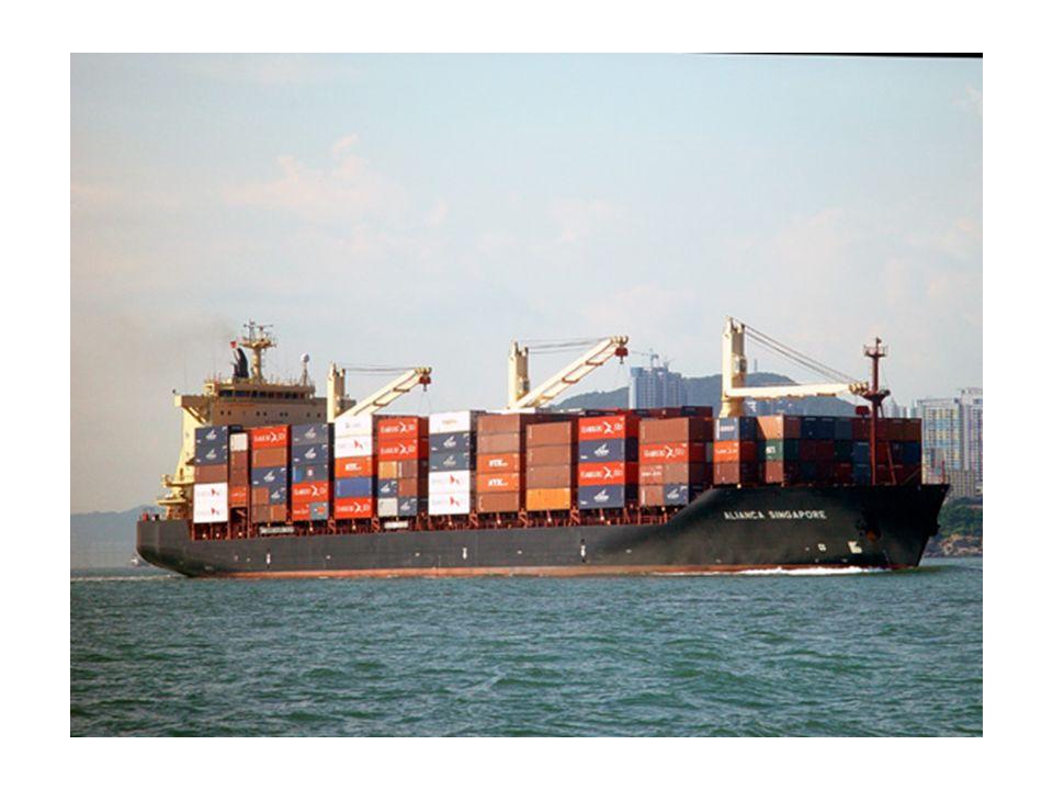 Comment une telle organisation est-elle possible ? containerisation & informatique Magasin/point de vente Filiale du pays de consommation Lieu de prod