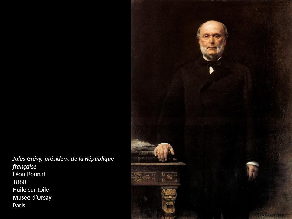 Jules Grévy, président de la République française Léon Bonnat 1880 Huile sur toile Musée dOrsay Paris