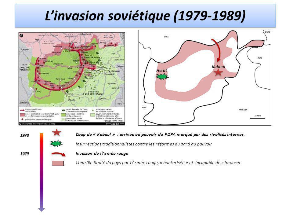 Coup de « Kaboul » : arrivée au pouvoir du PDPA marqué par des rivalités internes.