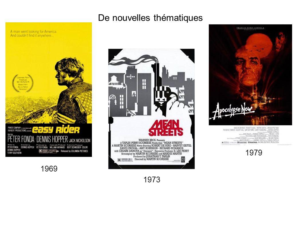 De nouvelles thématiques 1969 1973 1979