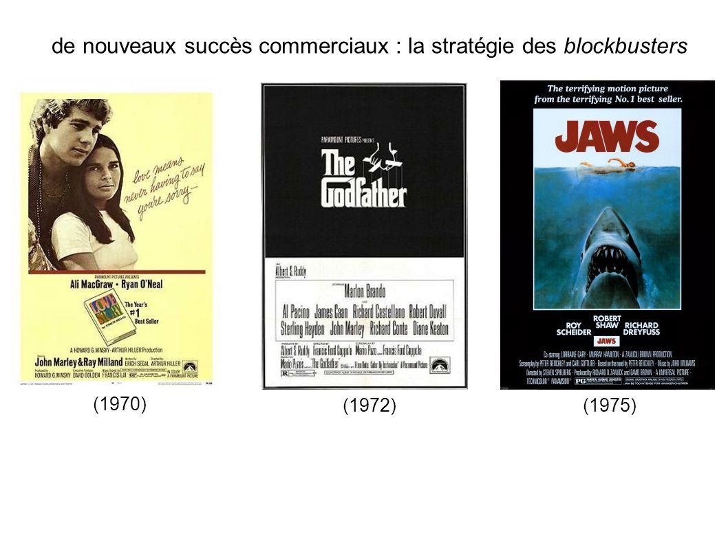 de nouveaux succès commerciaux : la stratégie des blockbusters (1970) (1972) (1975)