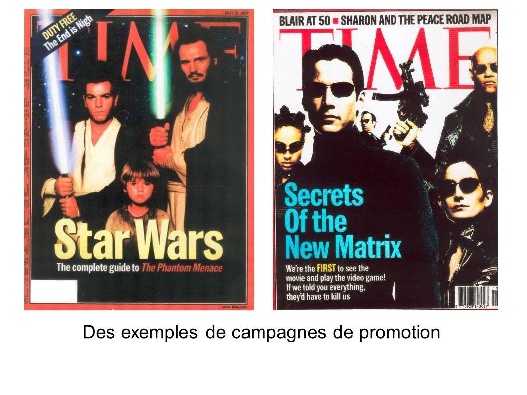 Des exemples de campagnes de promotion