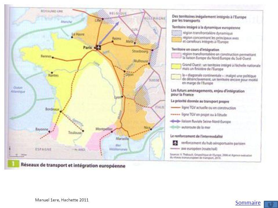 Manuel 1ere, Hachette 2011 Sommaire