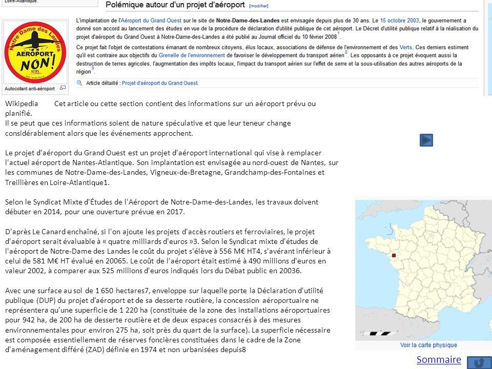 WikipediaCet article ou cette section contient des informations sur un aéroport prévu ou planifié. Il se peut que ces informations soient de nature sp