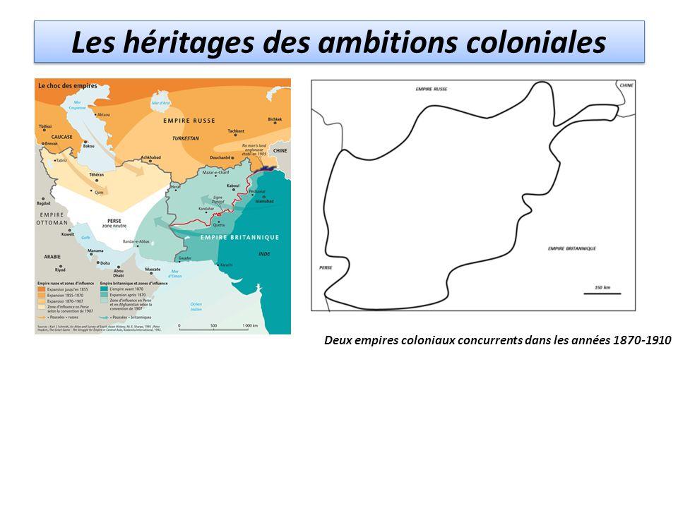 Les héritages des ambitions coloniales Deux empires coloniaux concurrents dans les années 1870-1910 Empire russe