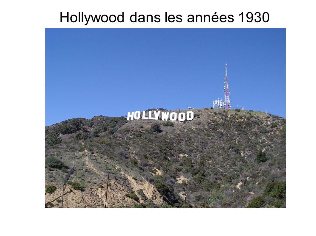 Hollywood dans les années 1930