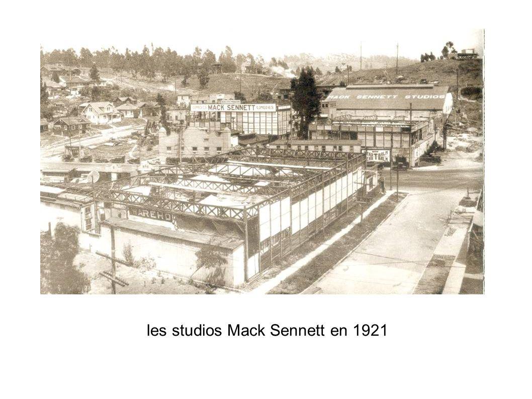 les studios Mack Sennett en 1921
