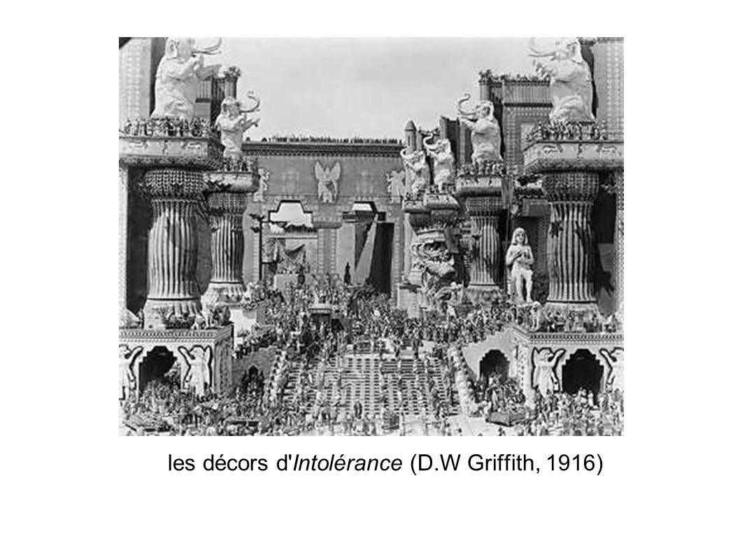 les décors d'Intolérance (D.W Griffith, 1916)