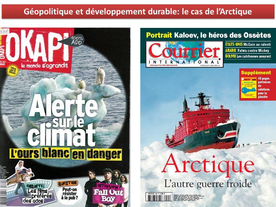 Géopolitique et développement durable: le cas de lArctique