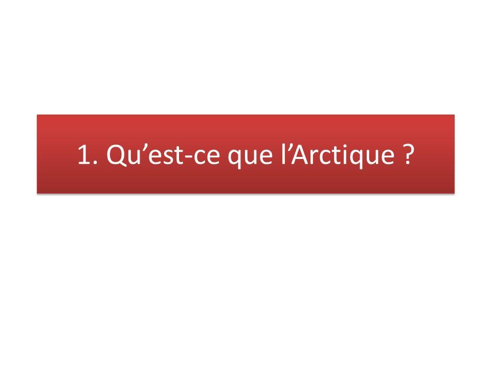 3.Pourquoi la fonte de la banquise fait-elle de lArctique un espace convoité .
