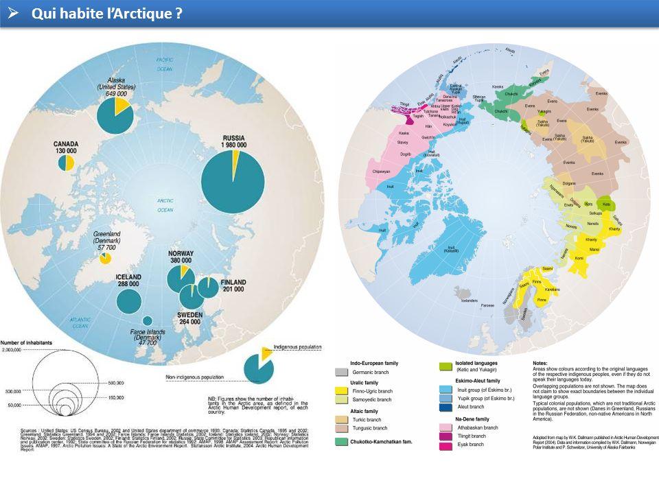 Qui habite lArctique ?