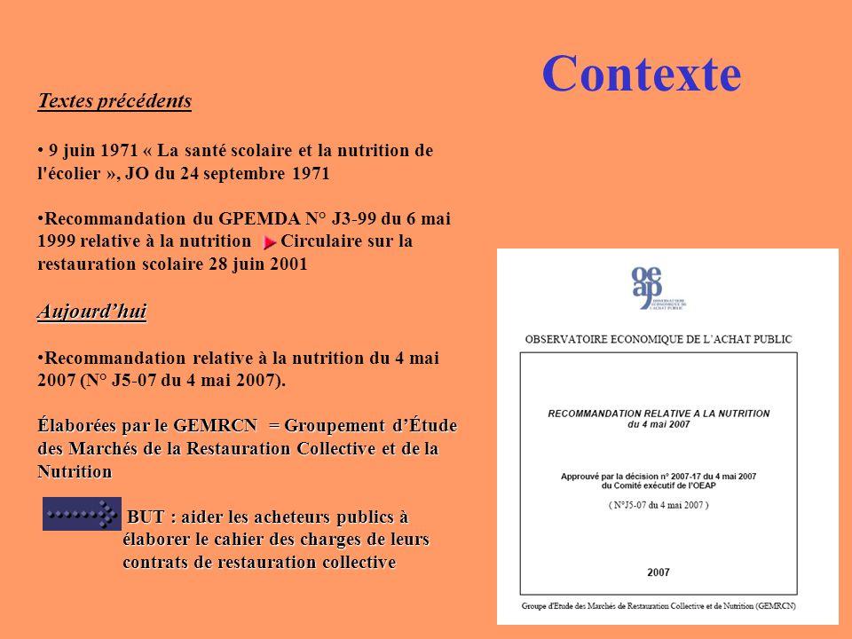 Contexte Actualités Communiqué de presse du 4 février 2008 Mme Roselyne Bachelot, Ministre de la Santé, de la jeunesse et des sports a annoncé des nouvelles mesures pour 2008 concernant la nutrition.