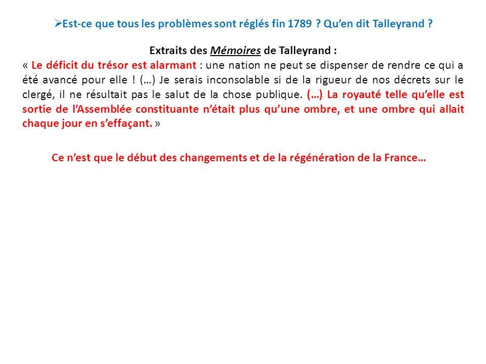 II.Comment régénérer la France en 1790 .