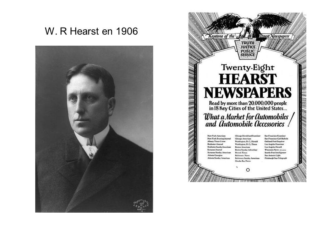 W. R Hearst en 1906
