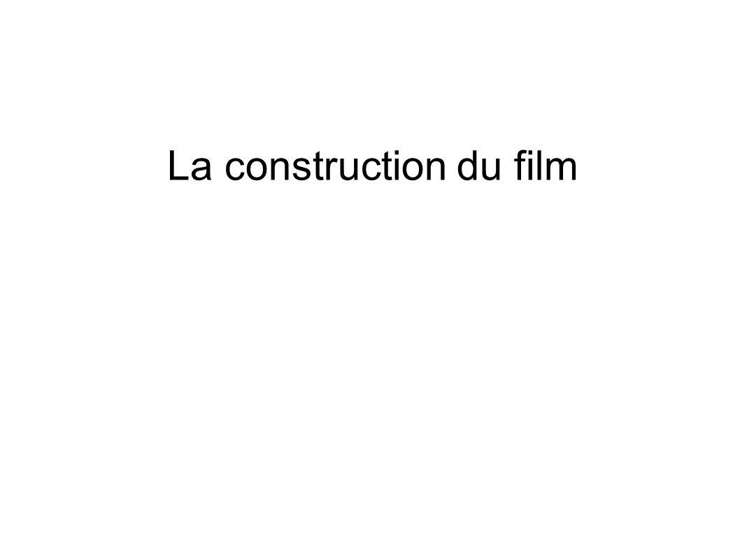 La construction du film